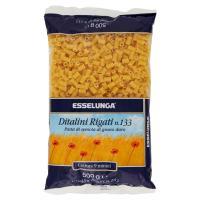 Esselunga, Ditalini Rigati n. 133 pasta di semola di grano duro