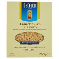 De Cecco, Lancette n. 609 pasta all'uovo