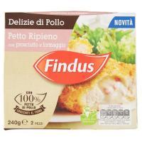 Findus, Delizie di pollo petto ripieno con prosciutto e formaggio surgelati