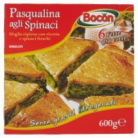 Bocon, Pasqualina agli spinaci surgelata