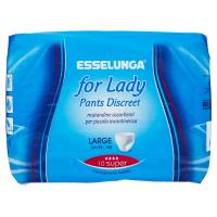 Esselunga, For lady pants discreet large super