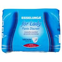 Esselunga, For lady pants discreet medium super
