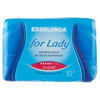 Esselunga, For Lady assorbenti super ripiegati
