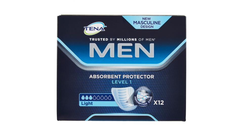 Tena, Men Level 1 protection assorbenti distesi