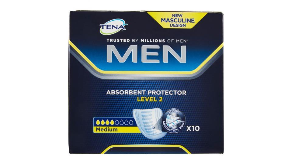 Tena, Men Level 2 protection assorbenti distesi