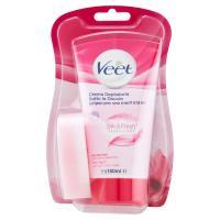 Veet, Silk & Fresh Technology pelli normali crema depilatoria sotto la doccia