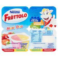 Nestlé, Fruttolo Maxi Duo fragola vaniglia
