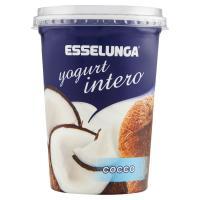 Esselunga, yogurt intero al cocco