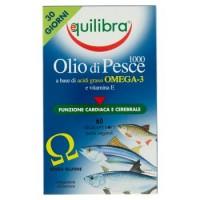 Equilibra, olio di pesce 1000 60 perle vegetali