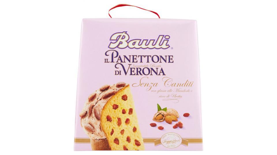 Bauli Il Panettone di Verona senza canditi, con mandorle e uvetta
