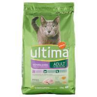 Ultima, gatto Adult sterilizzato alimento con pollo orzo cereali integrali