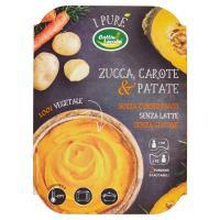 Cottin tavola purè di zucca, carote e patate