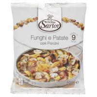 Cucina Sartor, funghi e patate con porcini surgelati