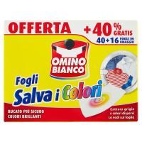 Omino Bianco Fogli Salva i Colori