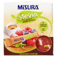 Misura, Stevia dolcificante 40 bustine