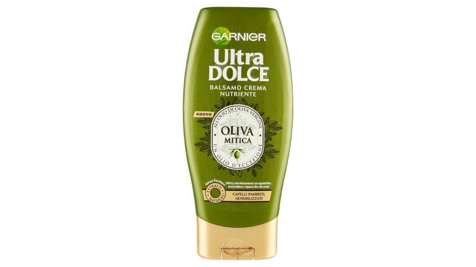 Garnier Ultra Dolce Oliva Mitica Balsamo Crema Nutriente per Capelli Inariditi Sensibilizzati
