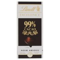 Lindt, Excellence 99% Cacao noir absolu