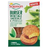 Sojasun Burger Vegetale taccole e piselli