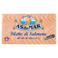Asdomar - Filetti Di Salmone, All'Olio Di Oliva
