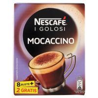 Nescafé Caffè Golosi Mocaccino Preparato Solubile in Polvere al Caffè e Cacao 10 Buste