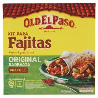 Old El Paso, kit para fajitas original barbacoa