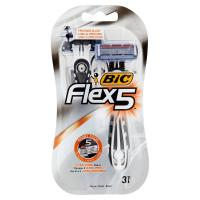 Bic, 5 Flex rasoio 5 lame usa e getta
