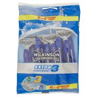 Wilkinson Sword, Extra3 Essentials rasoio 3 lame usa e getta 8 +