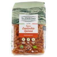 Sgambaro, Trivelline N°47 a base di di farro lenticchie quinoa biologico