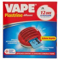 Vape, Piastrine Azione Rapida diffusore +