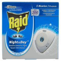 Raid Night & Day Zanzare Ricarica