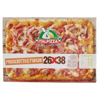 Pizza 26x38cm Prosciutto e Funghi Surgelata Italpizza