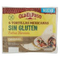 Old El Paso Tortillas Mexicanas Sin Gluten Original