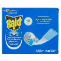 Raid, Azione prolungata Piastrine zanzare 1 diffusore +