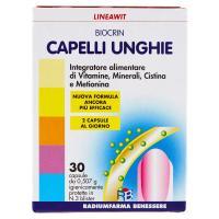 Radiumfarma Benessere, Lineawit Biocrin capelli e unghie 30 capsule