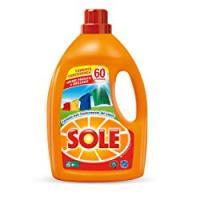 Sole Colori Protetti e Brillanti, Detersivo per Lavatrice Liquido
