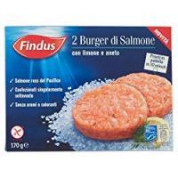 Findus 2 Burger di Salmone con limone e aneto