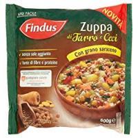 Findus Zuppa di Farro e Ceci con Grano Saraceno