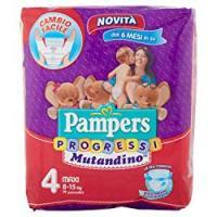 Pampers Progressi Mutandino Maxi Taglia 4 (8-15Kg)
