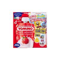 Yomino 100% Naturale yogurt e fragole