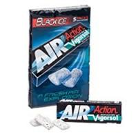 Vigorsol Air Action Black Ice Gomma da Masticare - Confezione da