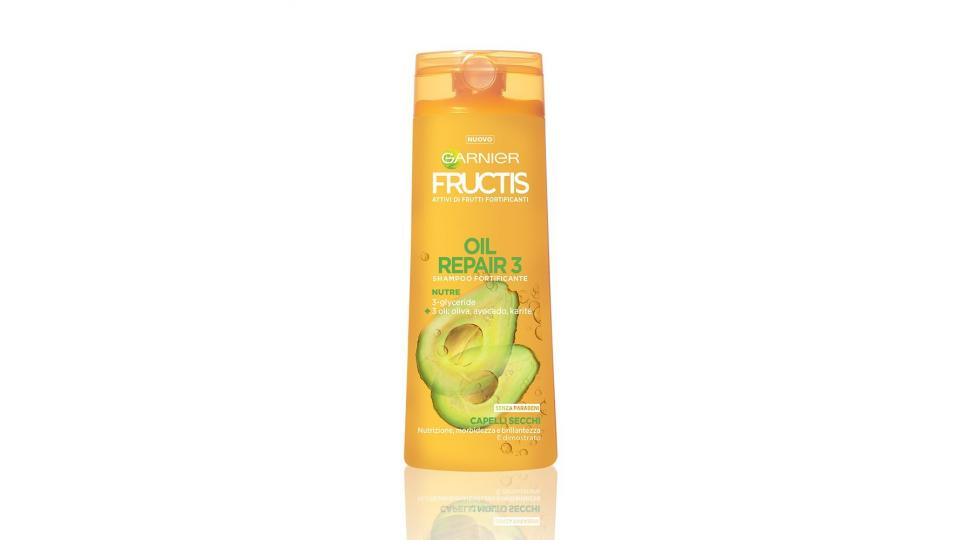 Garnier Fructis Oil Repair 3 Shampoo per Capelli Secchi