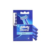 Gillette - Blue II Plus, Rasoi Usa e Getta, Confezione da 4