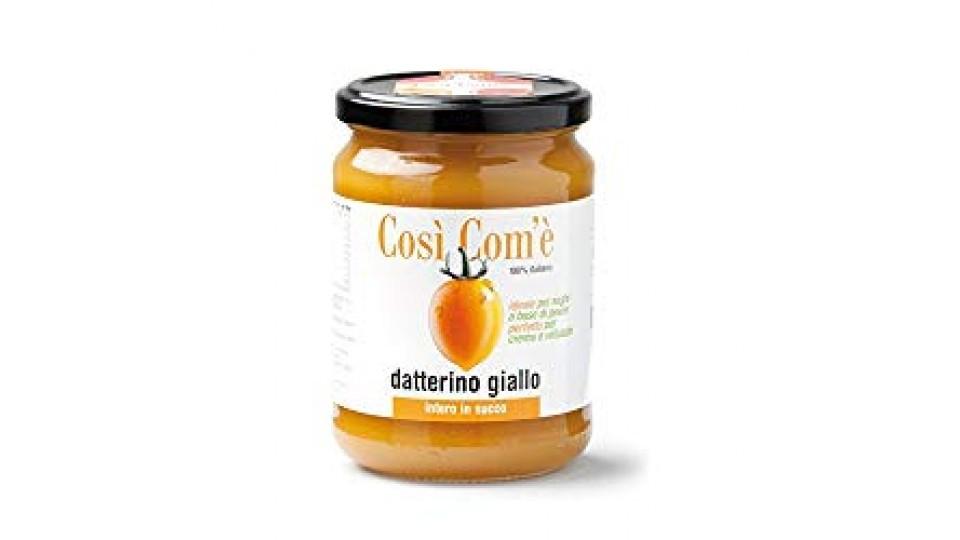 Pomodoro Datterino giallo in succo