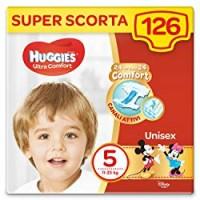 Huggies Pannolini Ultra Comfort, Taglia 5 (11-25 Kg), Confezione da