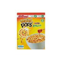 Kellogg's - Miel Pops, Anellini 4 Cereali Integrali - 12 Porzioni