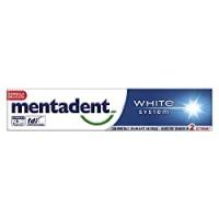 Mentadent dentifricio white system
