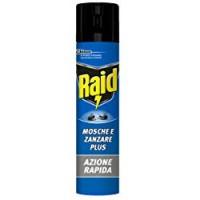 Raid mosche/zanzare spray eucalipto
