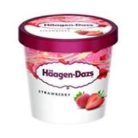 Haagen-Dazs - Strawberries & Cream