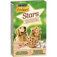 PURINA FRISKIES Biscotti Stars Snack Cane aromatizzati con formaggio e manzo scatola