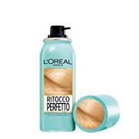 L'Oréal Paris Ritocco Perfetto Spray Ritocco Radici, Colorazione Ricrescita, Copre i Capelli Bianchi e Dura 1 Shampoo, 5 Biondo